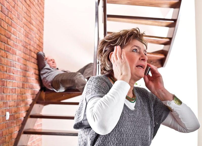 sklisikring trapp